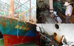 Vụ tàu vỏ thép: Mua gom động cơ bộ lắp cho tàu thuỷ