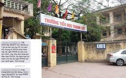 Hà Nội: Phụ huynh lo lắng khi nhà trường nhắn tin cảnh báo có kẻ lạ mặt đến đón con