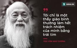 """PGS Văn Như Cương: """"Học trò xem tôi như người bố, người ông nên tôi thấy mình đáng sống lắm"""""""