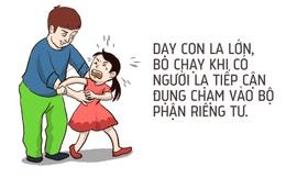 [Tranh vẽ] 8 nguyên tắc cha mẹ cần dạy con để tránh bị xâm hại