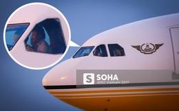 """Quốc vương Brunei tự lái """"Cung điện bay"""" siêu sang A340-212 tới Đà Nẵng dự APEC"""