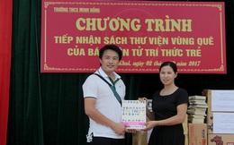 THƯ VIỆN VÙNG QUÊ: Thỏa ước mơ đọc sách của thầy và trò quê lúa Thái Bình