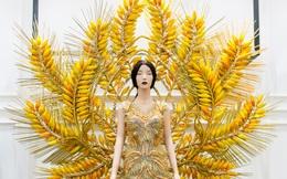 Hoa hậu Quý bà Trâm Lưu thiết kế trang phục hoành tráng đi thi thố