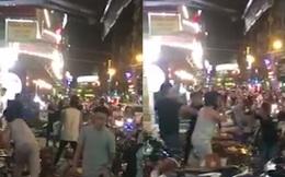 Chủ quán kể lại vụ khách đánh nhau với nhân viên giữ xe náo loạn phố Tây