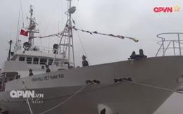 Hình ảnh tàu kiểm ngư hiện đại Nhật Bản vừa trao tặng Việt Nam