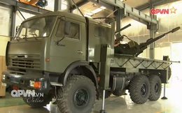 Việt Nam chế tạo tổ hợp pháo - tên lửa phòng không tự hành tầm thấp