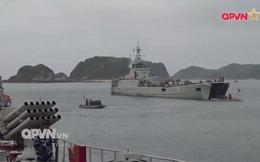 Ấn tượng quân sự Việt Nam tuần qua: Tàu pháo bảo vệ Hải quân đánh bộ diễn tập bắn đạn thật