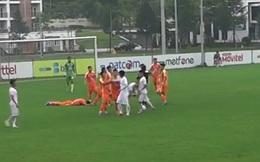 Cầu thủ Viettel đấm đàn em Như Thành ở giải Hạng Nhì