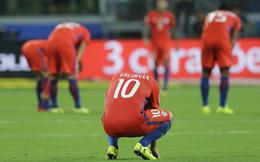 Sốc trước lý do Chile thảm bại 0-3 trước Brazil