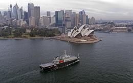 Hải quân Australia tiếp nhận tàu huấn luyện đa năng tối tân do Việt Nam chế tạo