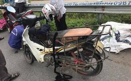 Hàng chục xe máy dính đinh trên cao tốc Hà Nội - Bắc Giang