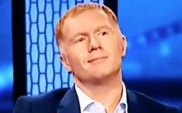 """Fan Man United phấn khích trước nụ cười """"cửa trên"""" của Scholes khi Gerrard nói về Mourinho"""