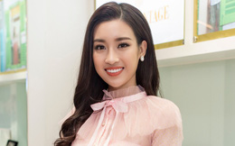 Hoa hậu Đỗ Mỹ Linh xuất hiện rạng rỡ sau khi trở về từ Miss World 2017