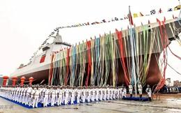 Trung Quốc hạ thủy khu trục hạm Type 055 đầu tiên