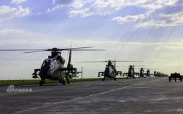 Trung Quốc khoe số lượng hùng hậu trực thăng vũ trang hiện đại