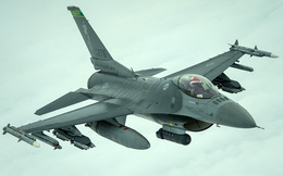 """Kinh ngạc: F-16 """"hàng bãi"""" bền... gấp đôi Su-30MK sản xuất mới"""