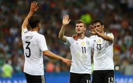 """Thắng đậm Mexico, người Đức bỗng nhiên lo lắng về trận đấu """"bị nguyền rủa"""""""