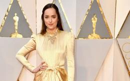 Thảm đỏ Oscar 2017: Mỹ nhân 50 Sắc Thái mờ nhạt dù mặc toàn đồ hiệu