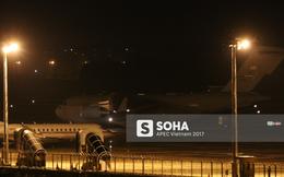 Vận tải cơ C-17 thứ hai của đoàn tiền trạm Mỹ hạ cánh xuống Đà Nẵng