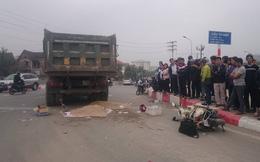 Ngã ra đường sau va chạm, 2 người đi xe máy bị xe tải cán tử vong