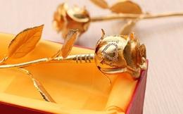 Nửa tỉ đồng một bông hồng vàng gắn kim cương cho ngày Valentine