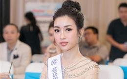 """Đỗ Mỹ Linh đặt mục tiêu lọt Top 5 """"Hoa hậu Thế giới"""""""