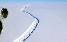 Vết rạn nứt khổng lồ trên băng Nam Cực khiến giới khoa học đứng ngồi không yên