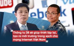 """Blogger truyền thông: Thông tư 38 sẽ """"giữ cho môi trường mạng đỡ ô nhiễm hơn"""""""