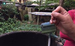 Giếng nước sinh hoạt bỗng dưng bốc khói, nhiệt độ lên đến 50 độ C
