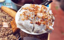 Quán bánh cuốn giữa nội thành Hà Nội giá chỉ 10.000 đồng/suất