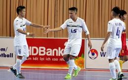 Sao Việt dự World Cup thắng ấn tượng, vô địch lượt đi giải quốc gia