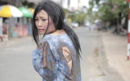 Phương Thanh chịu đau đớn để khắc họa hình ảnh phụ nữ bị bạo hành