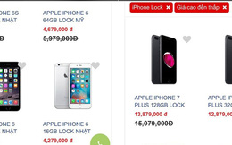 """iPhone khóa mạng """"đạp giá"""" đang """"làm khó"""" iPhone 8?"""