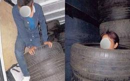 Cặp tình nhân Pháp giấu 12 người Việt trong chồng lốp sau thùng xe tải