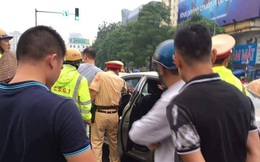 Xác định danh tính kẻ cầm gậy golf đánh các chiến sỹ CSGT Hà Nội