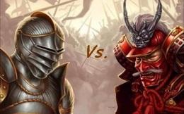 Samurai và kỵ sĩ thời Trung cổ: Ai mới là chiến binh mạnh nhất?