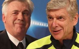 "Báo Italia loan tin Ancelotti muốn ""cướp ghế"" Wenger"