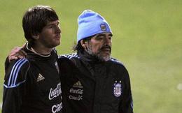 """Bị cáo buộc """"đâm lén"""" Messi, Maradona lập tức lên tiếng"""