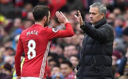 Mata không được đá chính nhiều, nhưng Mourinho vẫn sẽ cần anh