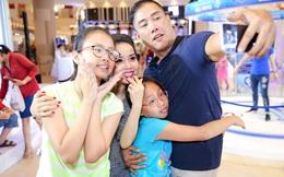 Hình ảnh hạnh phúc của Cẩm Ly bên chồng và 2 cô con gái