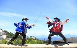 Đến Sun World Ba Na Hills chiêm ngưỡng ngự lâm quân Anh đấu kiếm