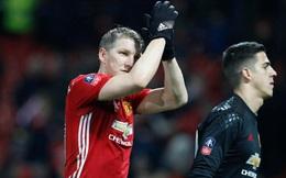 """Bất ngờ về """"số phận"""" Schweinsteiger sau bàn thắng ấn định tỉ số"""