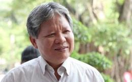 Nguyên Bộ trưởng Tư pháp Hà Hùng Cường gặp đơn vị quản lý để bàn giao nhà công vụ