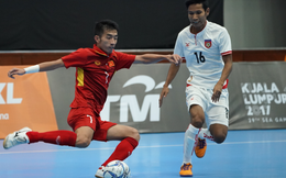 Box TV: Xem TRỰC TIẾP Futsal Việt Nam vs Indonesia (14h00)