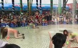 Vũ công mặc bikini nhảy múa phản cảm ở Đầm Sen, Cục Nghệ thuật lên tiếng