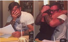 16 năm chăm con của bạn gái như con đẻ, bố dượng đã nhận được món quà quá bất ngờ vào sinh nhật