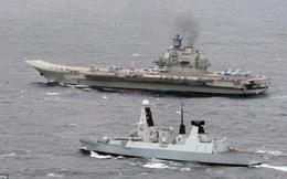 NATO vừa chê vừa run, huy động 50 tàu chiến bám Kuznetsov