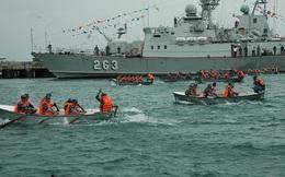 Lữ đoàn 162, Vùng 4 Hải quân tổ chức Hội thi chèo xuồng