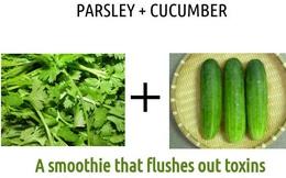 Món đồ uống thải độc và bồi bổ làm từ dưa chuột và rau mùi: Hãy làm ngay hôm nay!