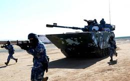 Trung Quốc tăng cường binh lực cho hải quân đánh bộ tại Biển Đông